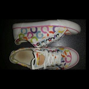 2 pair of coach sneakers 1 pair $40 or 2 for $70