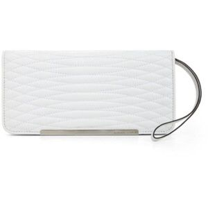 BCBGMAXAZRIA Demi Quilted Leather Tech Wallet