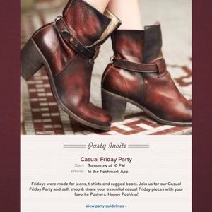 Free People Spellbound Boot/ used in party invite!