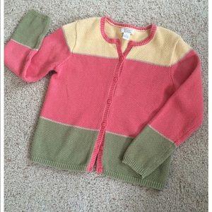 Christopher & Banks Sweaters - 💐 Pastel Color Block Cardigan 💐🎉Host Pick X2 🎉
