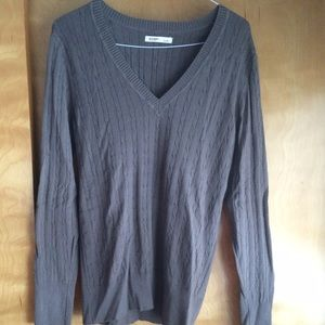 Old navy long sleeve brown sweater