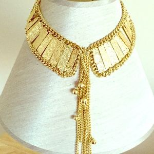 Jewelry - Gold Color Collar Necklace Set