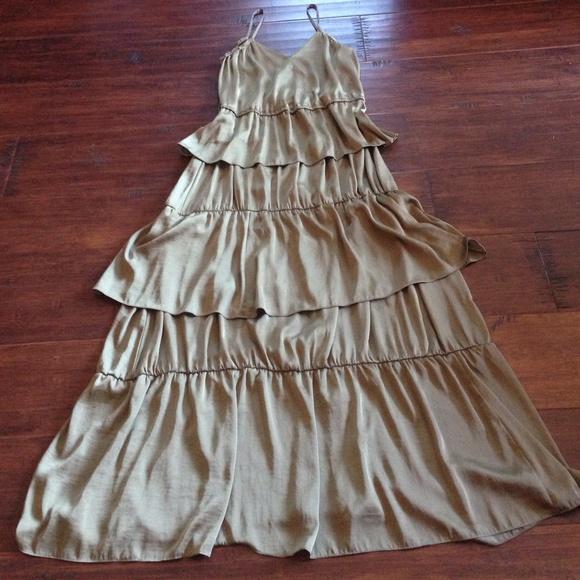 0f60016dc204 H&M Dresses | Hm Tiered Maxi Dress | Poshmark