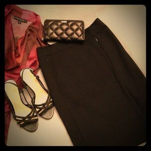 DVF New Koto Ponte Skirt Black