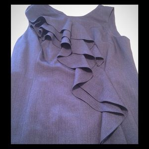 Calvin Klein ruffle dress