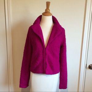 Jackets & Blazers - SALE Fuzzy Pink Open Blazer