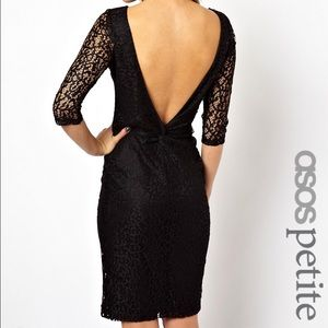 New! Asos petite lace midi dress