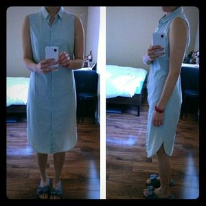 COS Dresses & Skirts - COS Chambray long sleeveless shirtdress