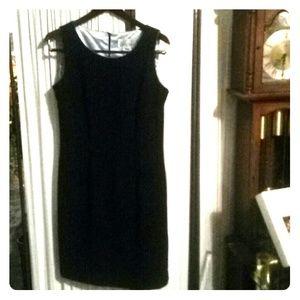 Dresses & Skirts - Navy blue pin strip dress