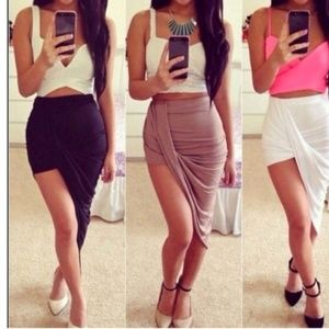 Goregous Wrap Draped Maxi Skirt💋