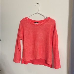 Bright crop H&M sweater