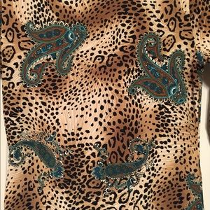Tops - Animal print top