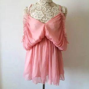 Pale pink romper