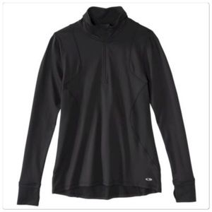Champion Sweaters - New champion active light pull on black sweater
