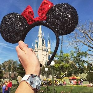 Disney sequin mouse ears