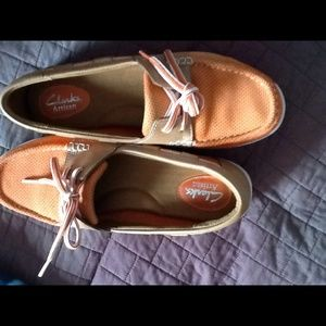 Clarks Artisan boat shoes