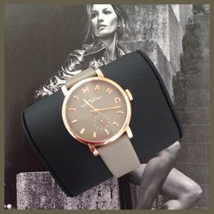 Marc Jacobs watch rose gold/beige-grey NWT