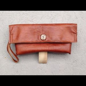 Freddy Clutches & Wallets - New copper colored envelope style leather clutch