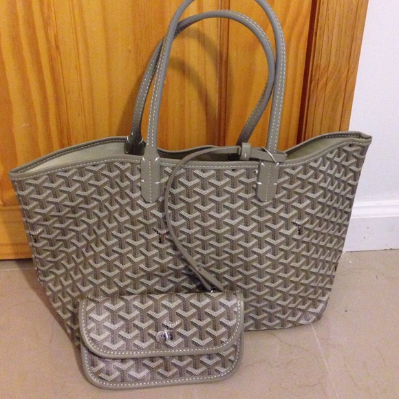 Goyard Bags Medium Gray Tote Reserved For Ownitownit Poshmark