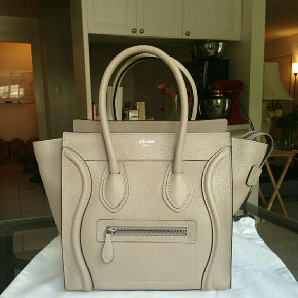 7e4601dd59 Celine Handbags - PRICE DROP! CELINE MICRO Luggage Tote Bag replica