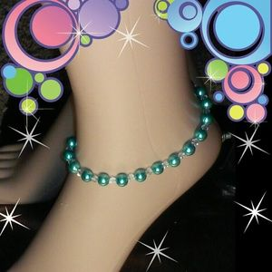 Unique Inspirations  Jewelry - Handcrafted ankle bracelet