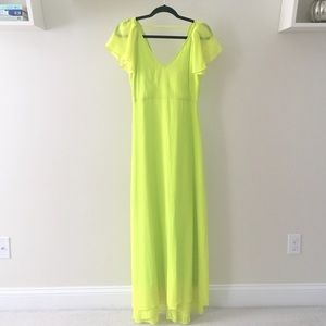 ASOS Dresses & Skirts - FINAL REDUCTION! Asos Petite Neon Maxi Dress NWOT