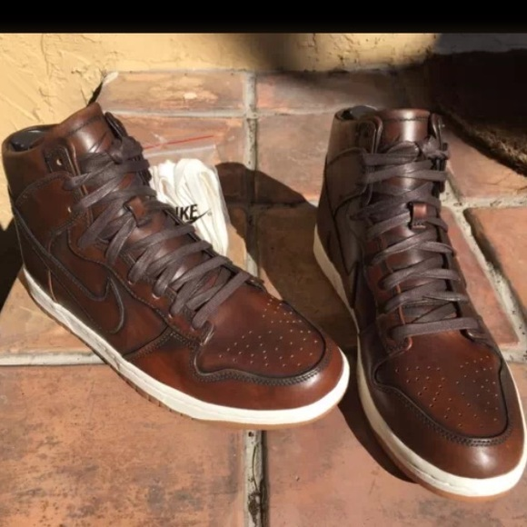 buy popular 09601 67c2c ... nike shoes nike dunk high lux burnished leather ...
