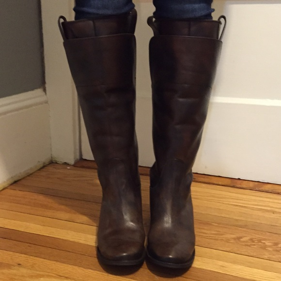frye paige tall riding on Poshmark