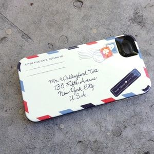 Kate Spade Envelope Letter Mail iPhone 4/4S Case