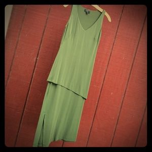 BCBG Downton Abbey Drop Waist Dress