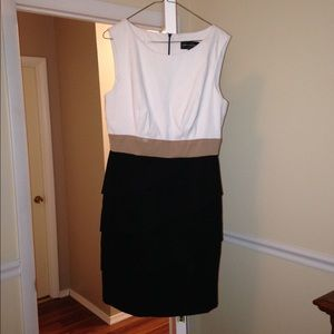 Connected Apparel Dresses & Skirts - NWOT Connected Apparel Color Block Cocktail Dress