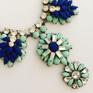 BaubleBar Turquoise & Blue Statement Necklace