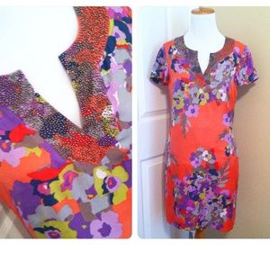 Boden Floral Shift Dress