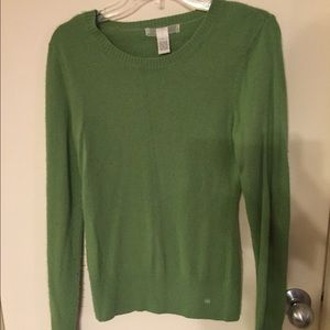 Sweaters - Green Long Sleeved Sweater