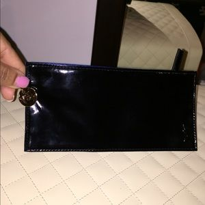 New Black YSL wallet/cosmetic bag.