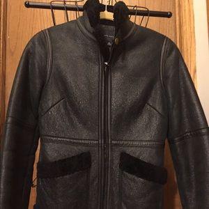 Banana republic shearling jacket in size XS