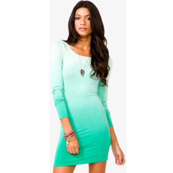 Forever 21 - Forever 21 Mint Ombré Dress from Mary's closet on ...