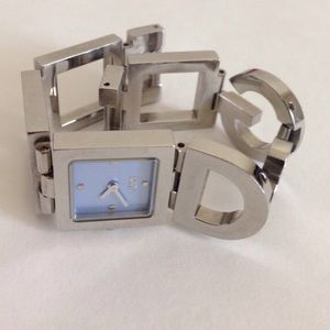 D&G stainless steel watch