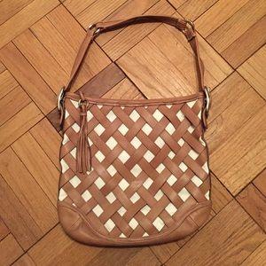 Coach Basketweave Handbag