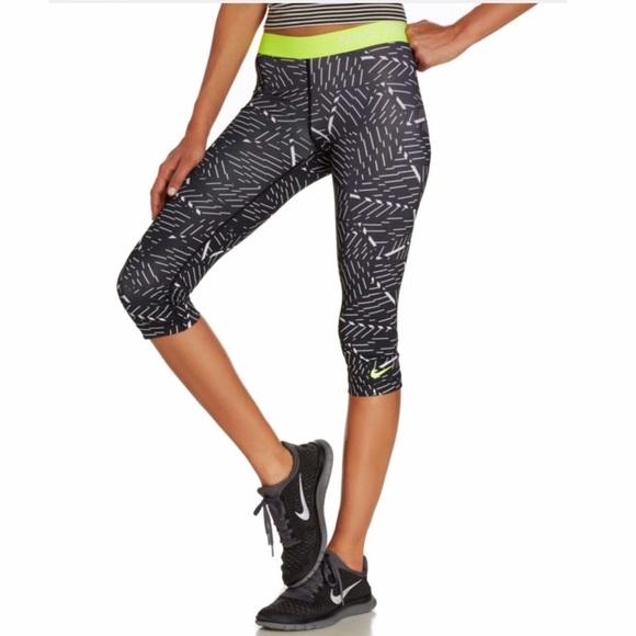 6ecb1689446e8 Nike Pants | Pro Cropped Leggings | Poshmark