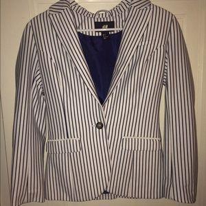 Striped H&M Blazer Jacket
