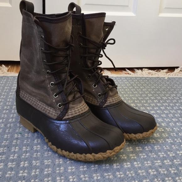 7f73c8944f3 L.L. Bean waxed canvas boots 6