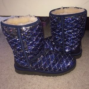 4739c4c6a94 Navy Blue Sequin Uggs - cheap watches mgc-gas.com