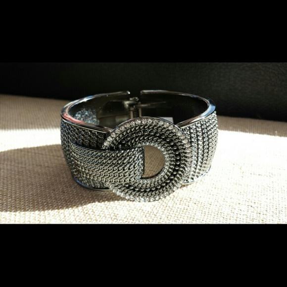 Lia Sophia Rotunda Hinged Bracelet