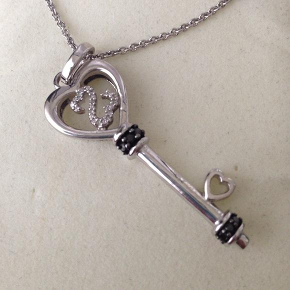 Kay Jewelers Jewelry Final Open Heart Key Necklace Poshmark