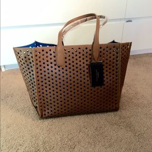 Zara Large Perforated Shopper