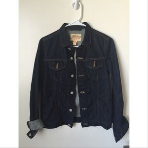 LEVIS dark blue denim jacket size S