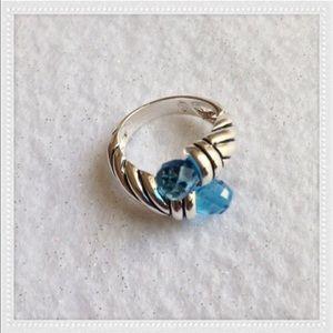 Jewelry - 🎉HP🎉STUNNING BLUE TOPAZ RING