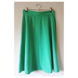 NWOT ASOS Sea-Foam Green Midi Skirt