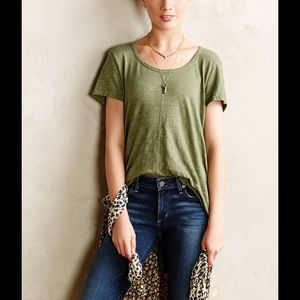 Host Pick! Anthro Centerline High-Low Tee